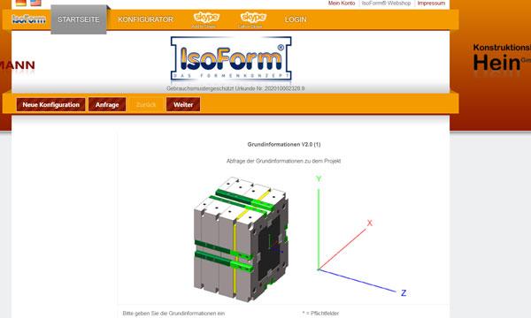 IsoForm Konfigurator