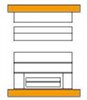 NP-B Aufspannplatte quer überstehend
