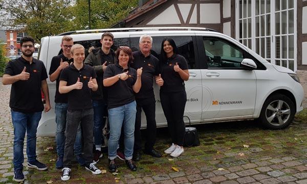 Nachbarschaftshilfe Auzubildende Nonnenmann GmbH