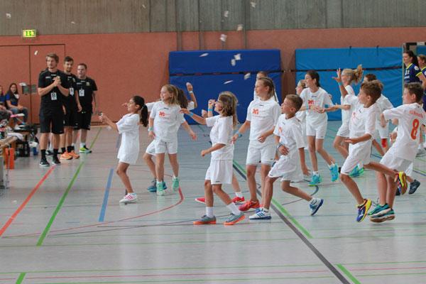 Handball-Jugend beim Nonnenmann-Cup